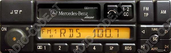 Enter mercedes benz radio code for Mercedes benz radio code