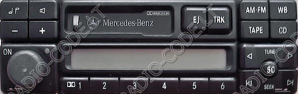 Radio mercedes e for Mercedes benz radio code