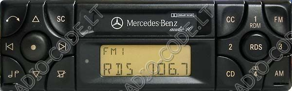 Mercedes benz for Mercedes benz radio code